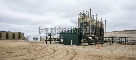 piattaforma di produzione di petrolio sul