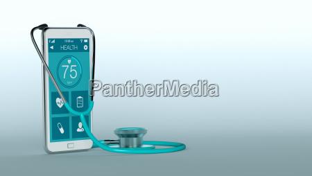telefono applicazione cellulare salute medico medicina