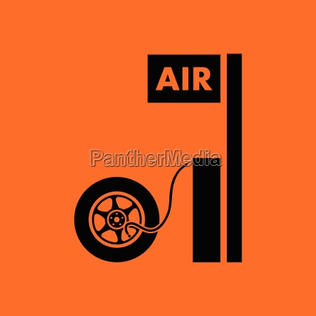 wheels pump station icon