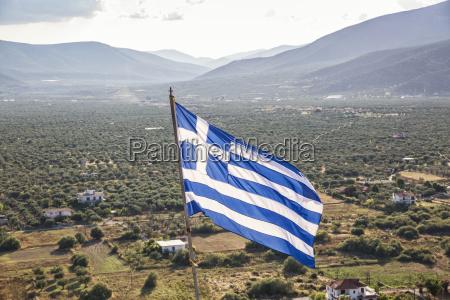 viaggio viaggiare agricoltura campo grecia guardare