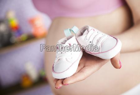 donna, incinta, in, possesso, di, un - 25135022