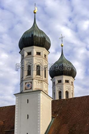 torre chiesa barocco europa baviera germania