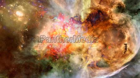 spazio universo cosmo notte via lattea