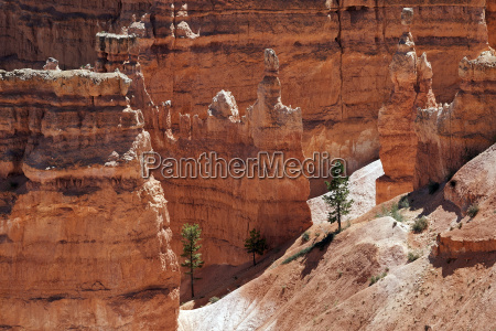view of colored rock formations hoodoos