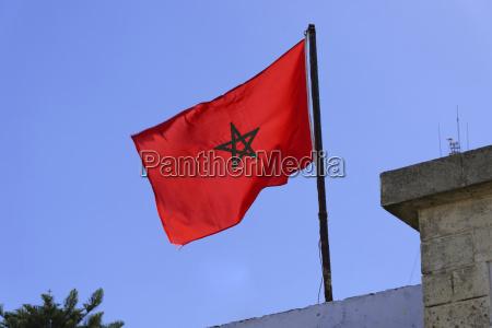 bandiera spopolato soffiare giorno durante il