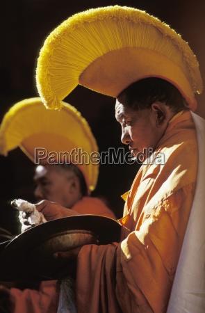 rituale culturale monastero tengbocheregione khumbunepal