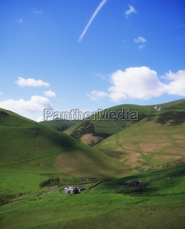 southern highlands near moffat dumfries scotland