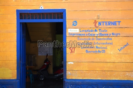 ein internet cafe in nicaragua
