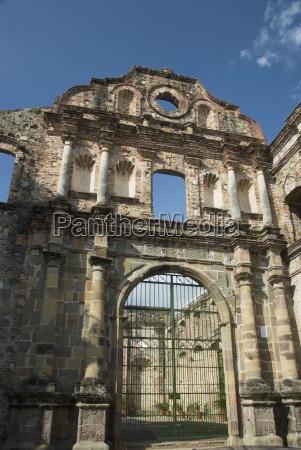 panama panama city cosco viejo church