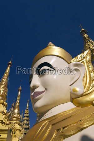 myanmar birmania yangon rangoon shwedagon paya
