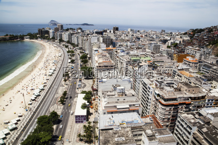 the view of copacabana beach from