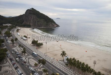 leme beach and leme fort rio