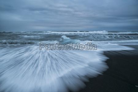 diamond beach along the south coast