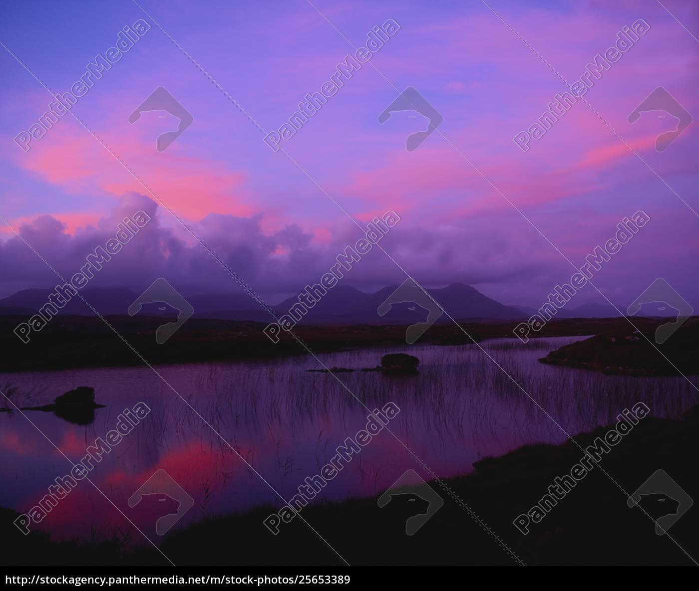 twelve, bens, , connemara, , county, galway, , ireland - 25653389