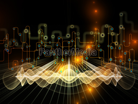 segnale movimento in movimento calcolo visualizzazione
