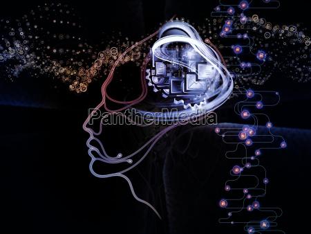 metaforica della coscienza macchina