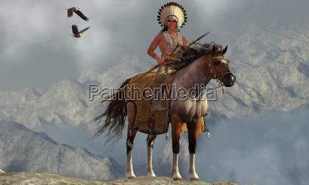 natale indiano nativo indigeno tribu membro