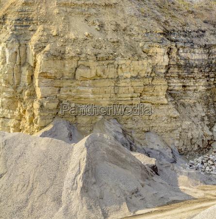 pietra sasso industria luce soleggiato estate