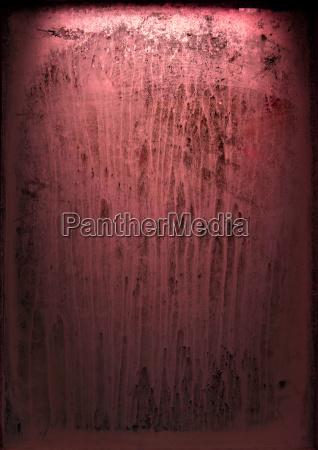 vecchia finestra con vernice striata
