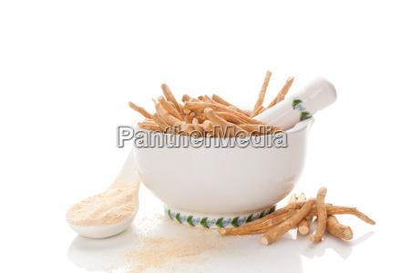 cibo rilasciato radice appartato tradizionale secco
