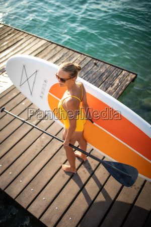 sup stand up paddle concetto pretty