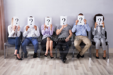 segno di domanda persone in possesso