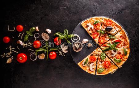 concetto di pizza