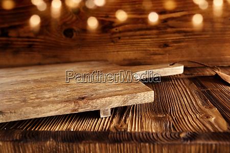 lavagna pannello legno svuotare bavarese rustico