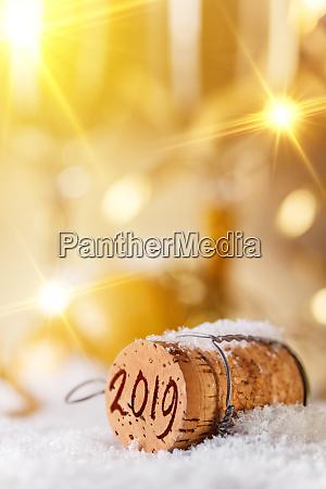 2019 concetto di nuovo anno