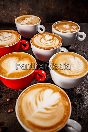 caffe latte art set