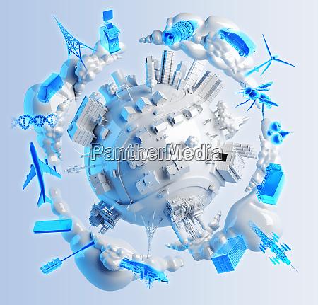 business tecnologia energia industria trasporti comunicazioni
