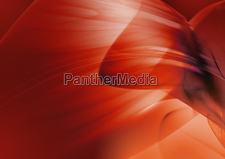 abstract image of red swirling clouds