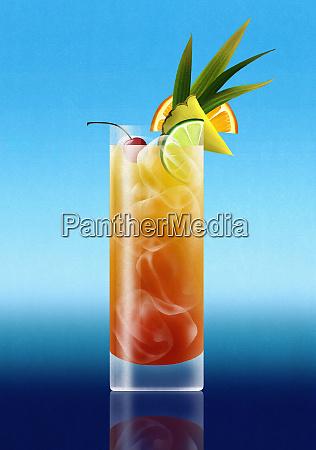 bevanda cocktail al rum tropicale