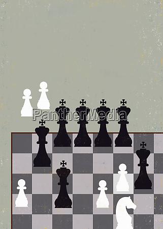 sleale vantaggio gioco di scacchi con