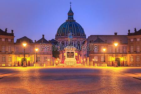 christiansborg palace in copenhagen denmark