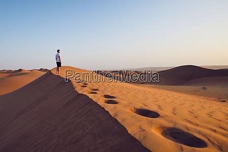 solo nel deserto