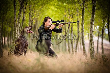 stagione di caccia autunnale caccia sport
