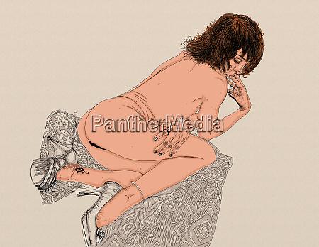 donna erotico linea raffinata e sensuale