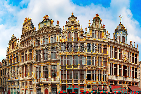 piazza grand place a bruxelles belgio