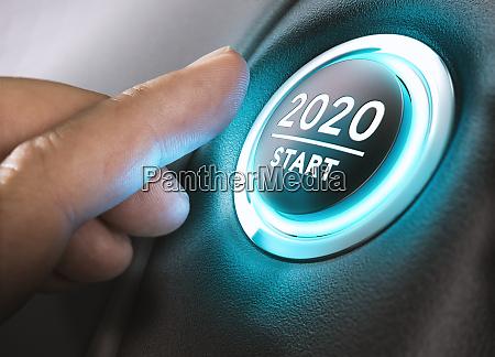 inizio anno 2020 duemila e venti