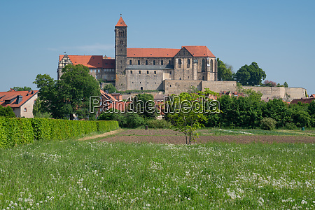 quedlinburg germania europa