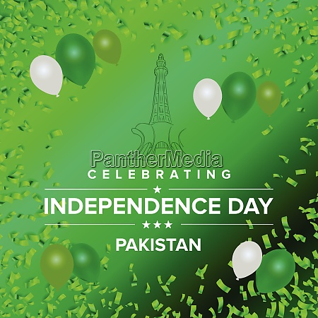 creative illustration for independence day celebration