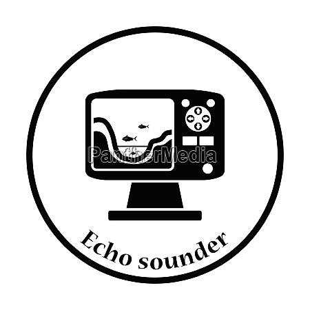 icona di eco sounder design