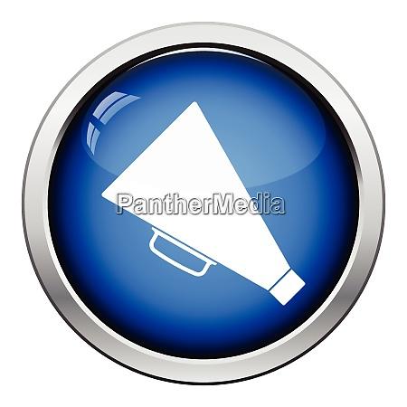 icona del megafono del director progettazione