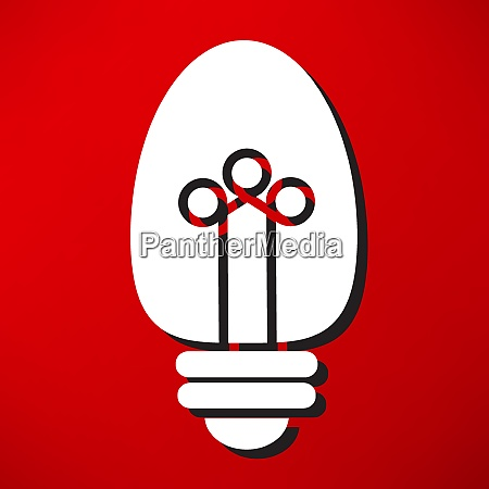 light, bulb, vector, icon - 26310174