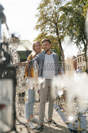 belgium tongeren happy young couple on