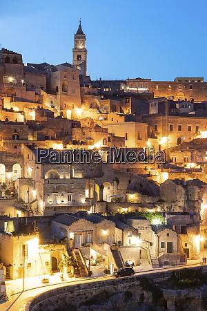 italy basilicata matera townscape and historical