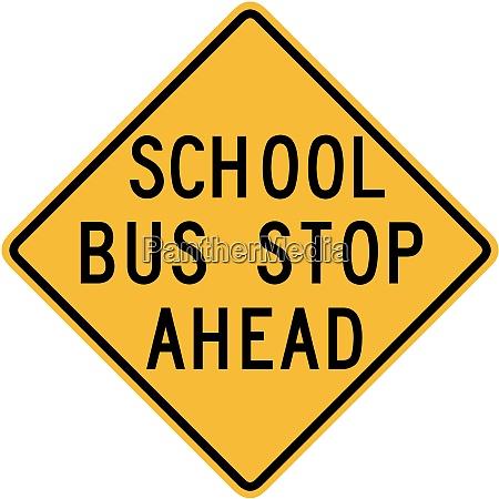 skolebus stop forude