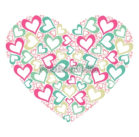 stiliseret hjerte