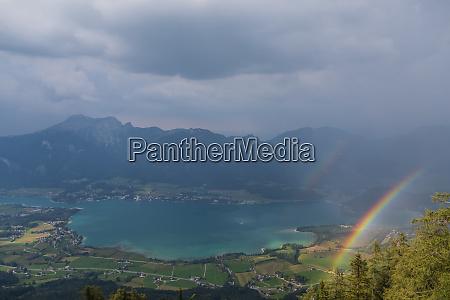 austria salzkammergut mondsee scenic picture with